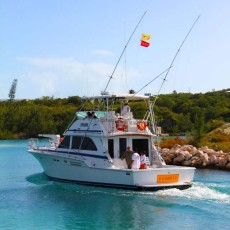 Turks and Caicos Sportfishing Boat