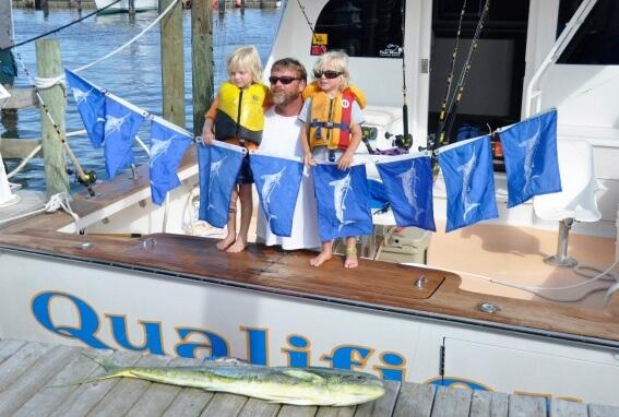 fin gaddy kids flags